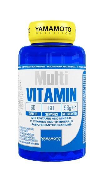 Витамини и Минерали Multi VITAMIN YAMAMOTO 60 таблетки