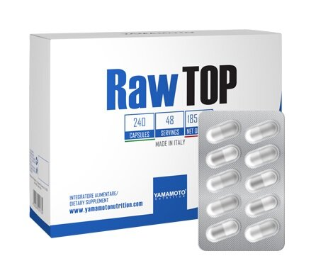 Витамини и Минерали за Спортисти RawTOP YAMAMOTO 240 капсули
