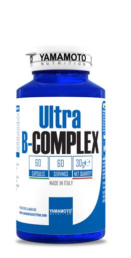 Витамини B Комплекс ULTRA B COMPLEX YAMAMOTO 60 капсули
