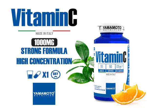 Витамин C 1000mg YAMAMOTO 90 капсули