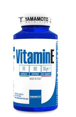 Витамин E 60mg YAMAMOTO 90 капсули