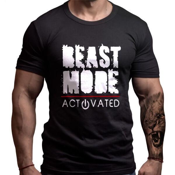 Фитнес Тениска BEAST MODE ACTIVATED