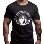 Фитнес Тениска MY GOD IS BIGGER THEN YOUR GOD