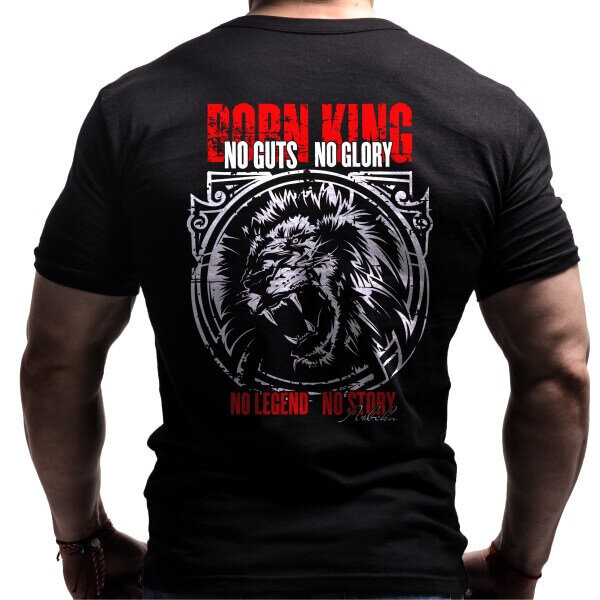 Фитнес Тениска BORN KING