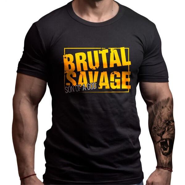 Фитнес Тениска BRUTAL SAVAGE