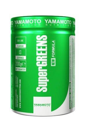 Микс от Билки, Витамин и Минерали, Зелени Храни, Плодове и Зеленчуци SUPER GREENS YAMAMOTO 200 грама