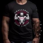 Фитнес Тениска CROSSFIT CHALLENGE-Copy