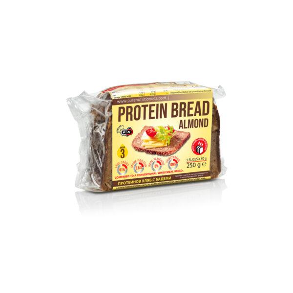 Протеинов Хляб с Бадеми Pure Nutrition 250 g