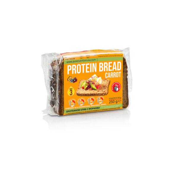Протеинов Хляб с Моркови Pure Nutrition 250 g