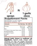 Чеснов Спрей за Овкусяване SPRAY SPICES Pure Nutrition 40 ml