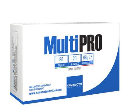 Витамини и Минерали за Спортисти MultiPRO YAMAMOTO 80 таблетки