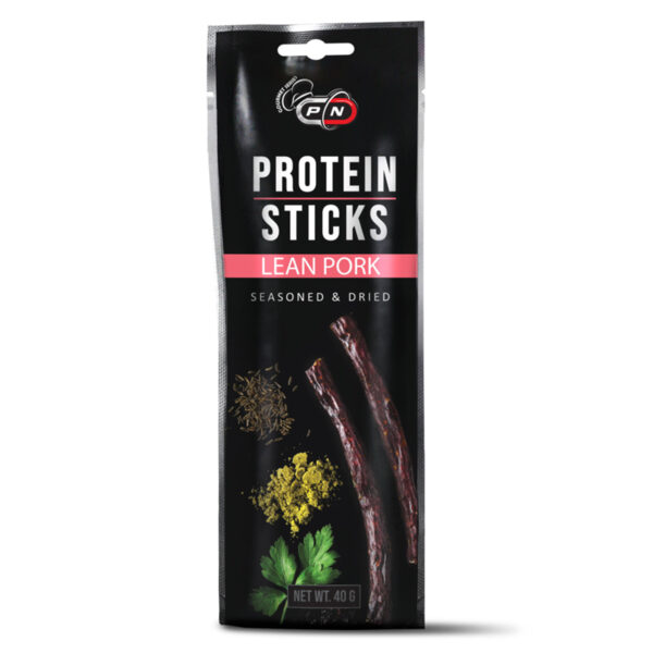 Сушено Свинско Protein Sticks LEAN PORK PURE NUTRITION 40 грам
