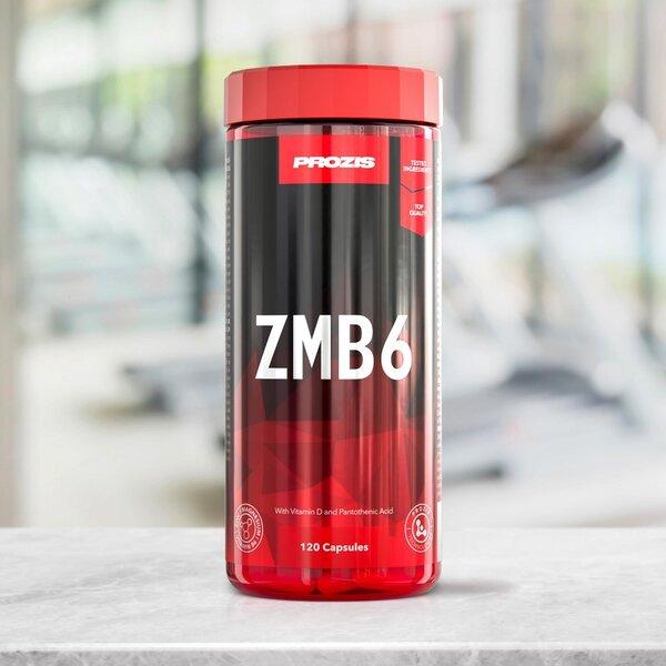 Цинк, Магнезий и Витамин B6 ZMB6 Prozis 120 капсули