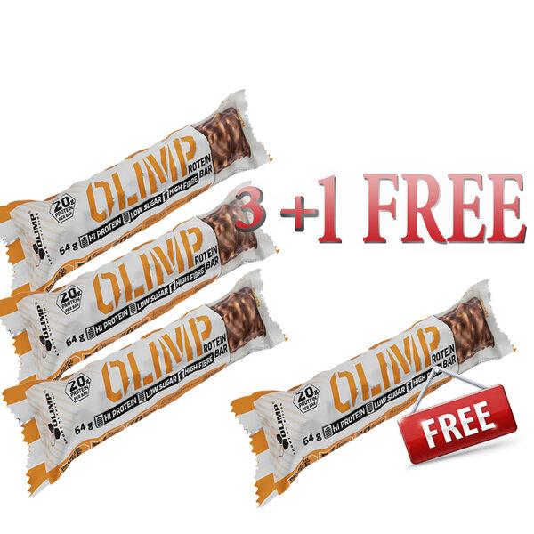 ПРОМО СТАК 02 Протеинов бар Olimp 3 + 1 FREE
