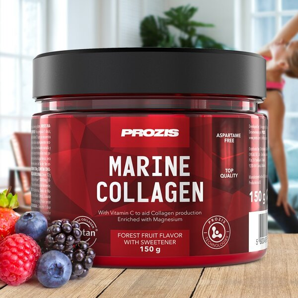 Хидролизиран Колаген + Магнезий и Витамин C Prozis 150 грама
