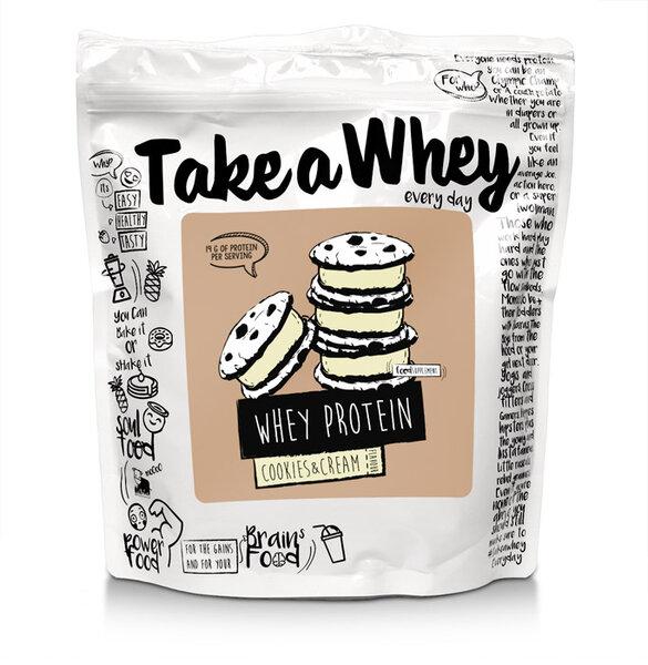 Суроватъчен Протеин Take A Whey 900 грама 32 дози
