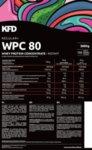 Суроватъчен Протеин Regular+ WPC 80 KFD 3000 грама 100 дози-Copy