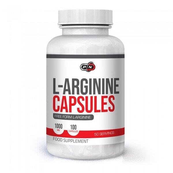 Аргинин Pure Nutrition 100 капсули