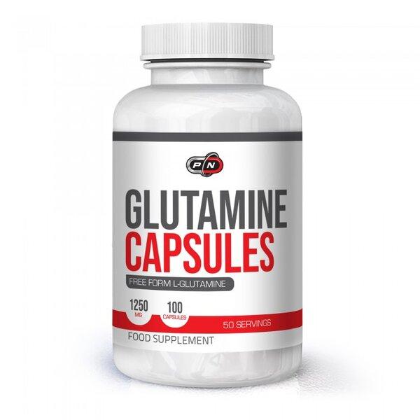 Глутамин Pure Nutrition 100 капсули