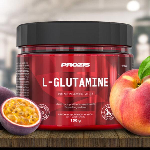 Овкусен L-Glutamine Prozis 150 грама