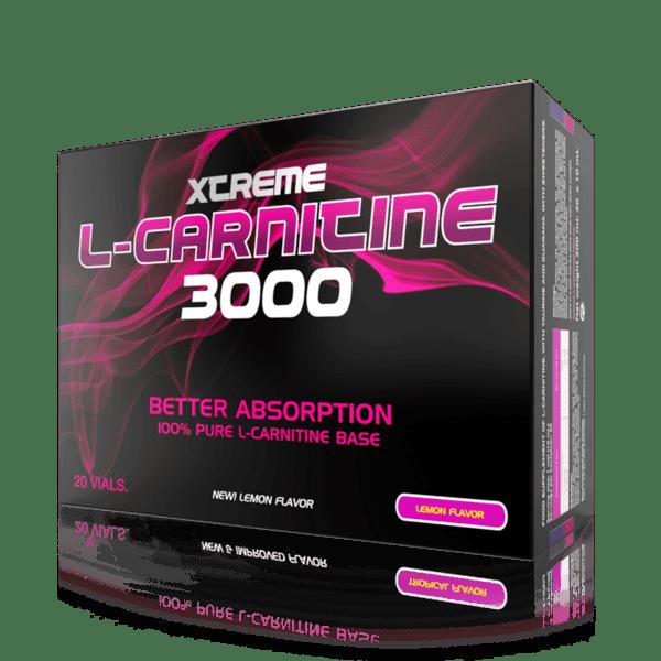 Течен Л-Карнитин 3000 XCore Nutrition 1 ампула 25 мл