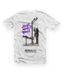 Фитнес Тениска Just Don`t Quit White T-Shirt BioTech USA