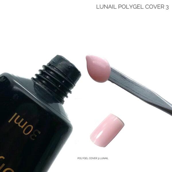 Polygel - камуфлажно розово №3
