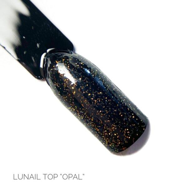 Топ без лепкав слой с частици Opal-10ml