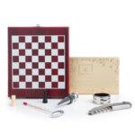 Подаръчен комплект-Шах и Аксесоари за Вино
