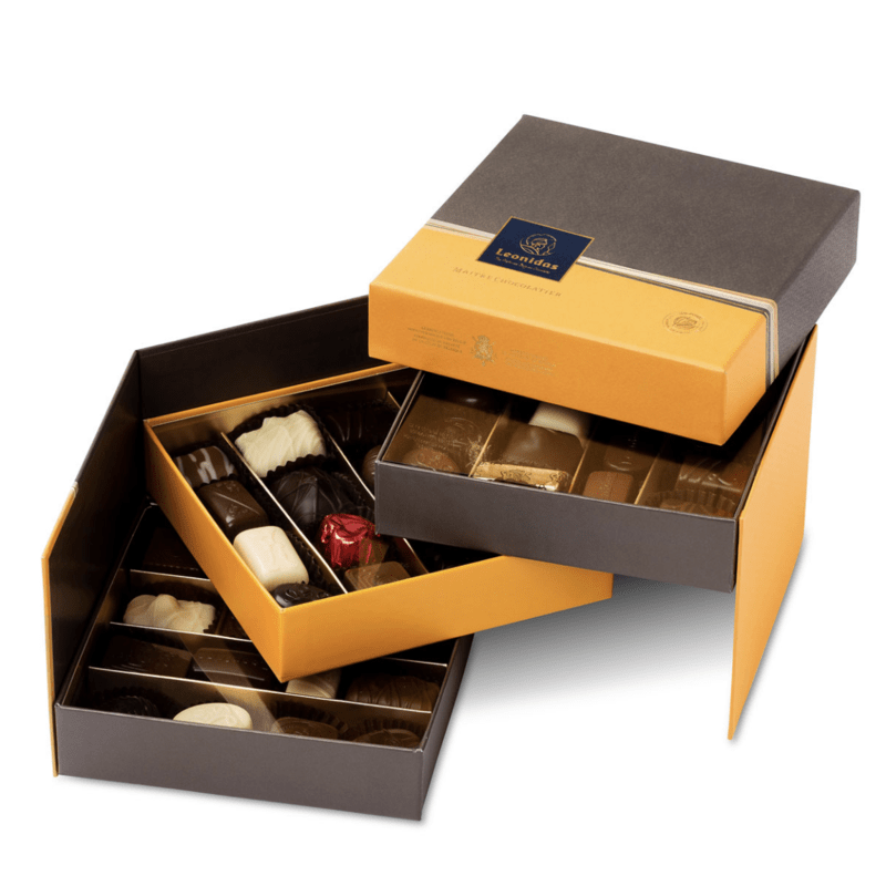 Bijoux Кутия с Шоколадови Бонбони Leonidas (30 Бр.)-Copy