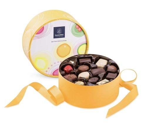 Dora Кафява Кутия с Шоколадови Бонбони Leonidas (24 Бр.)-Copy