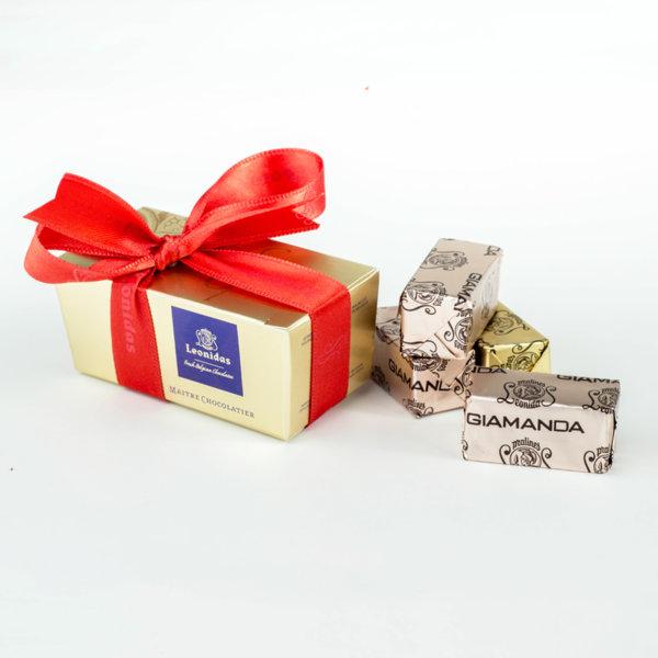Gianduja 3 Ballotin Кутия с Шоколадови Пралини Leonidas (3 Бр.)
