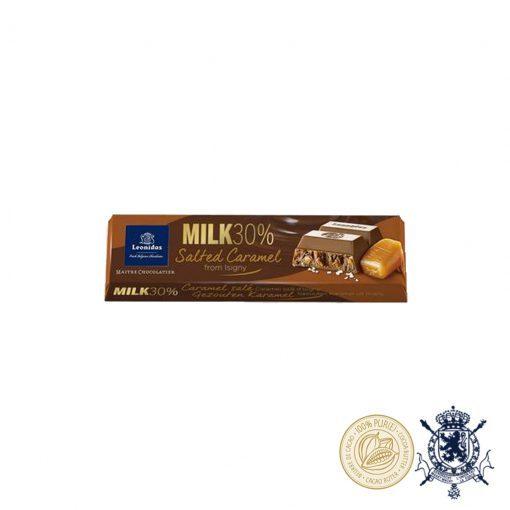 Карамел и Морска Сол Млечен Шоколад Leonidas 30% 50гр.