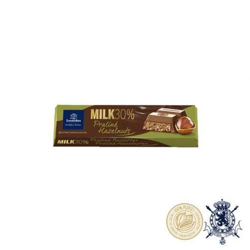 Лешници в Пралина Млечен Шоколад Leonidas 30% 50гр.