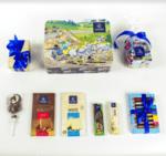 Детски Подаръчен Комплект Asterix с Шоколадови Бонбони Leonidas (примерно 860 гр.)