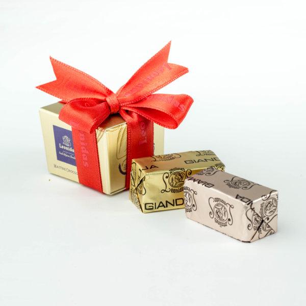 Gianduja 2 Ballotin Кутия с Шоколадови Пралини Leonidas (2 Бр.)