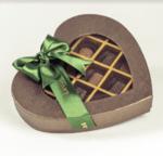 Сърце Кутия с Шоколадови Бонбони Leonidas (18 Бр.)