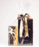 Луксозна Двойна Кутия с Вино и Аксесоари и Шоколадови Бонбони Leonidas (примерно 700 гр.)