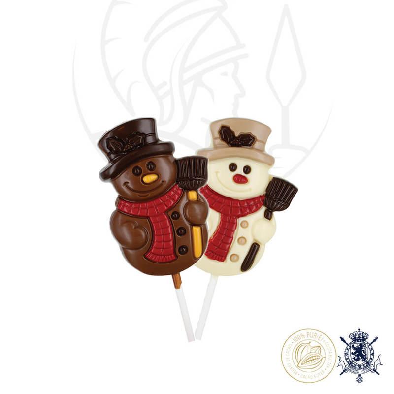 Коледна Шоколадова Близалка Leonidas - Дядо Коледа 35гр.-Copy