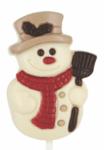 Коледна Шоколадова Близалка Leonidas - Снежен Човек 35гр.