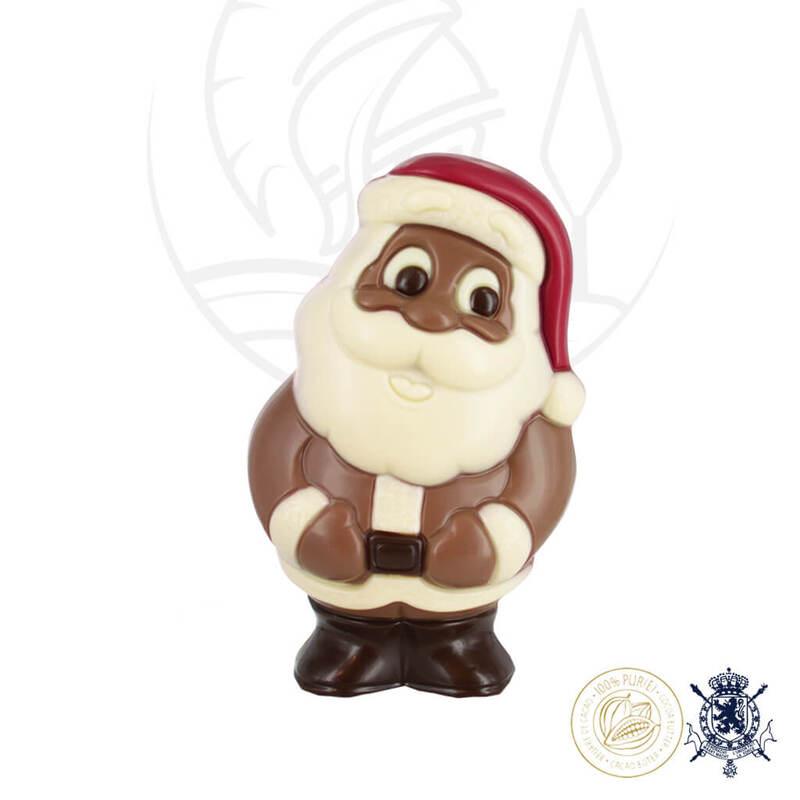 2 Коледни Шоколадови Фигури Leonidas - Дядо Коледа и Снежен Човек 35гр.-Copy