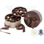 Dora Кафява Кутия с Шоколадови Бонбони Leonidas (24 Бр.)