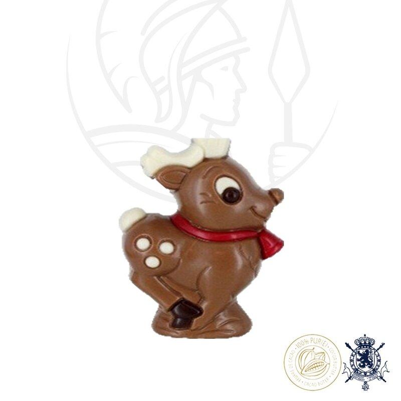 Коледна Шоколадова Фигура Leonidas - Дядо Коледа 75 гр.-Copy