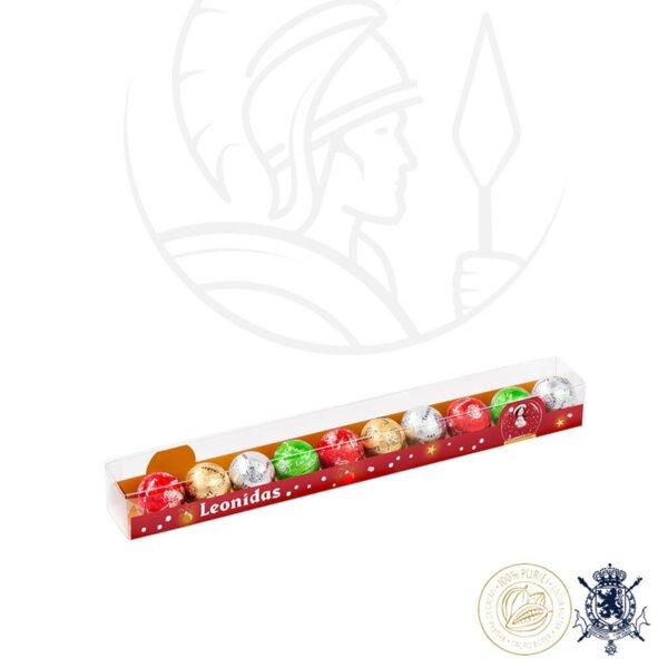 Reglette Коледна Кутия с Шоколадови Бонбони Leonidas 120 гр.