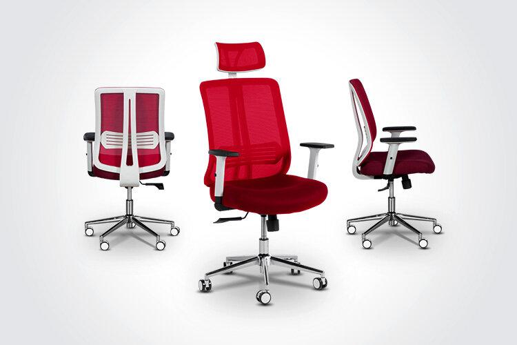 Комбинирайте ергономичния президентски офис стол LORENA с ергономичния президентски офис стол LORENA LUX