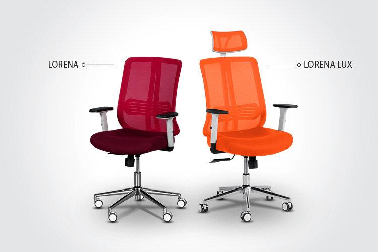 LORENA или LORENA LUX – кой ергономичен президентски офис стол да изберете?