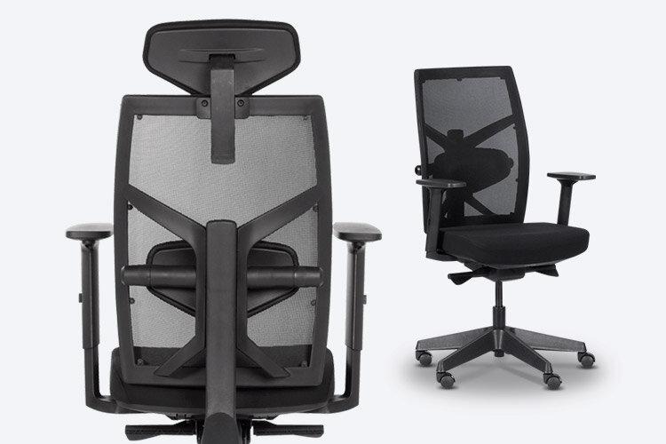 Комбинирайте ергономичния работен офис стол FREDO E с ергономичния президентски офис стол FREDO