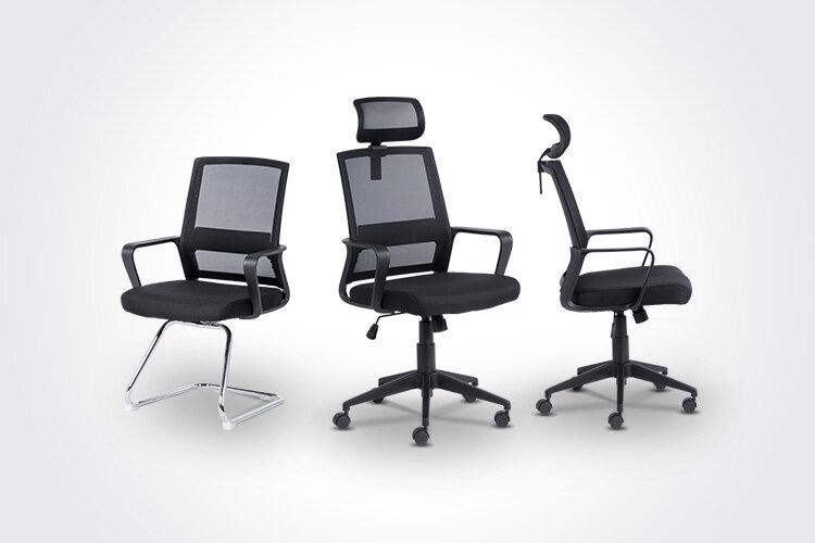 Комбинирайте посетителския стол Carmen 7036 с ергономичния президентски офис стол Carmen 7527