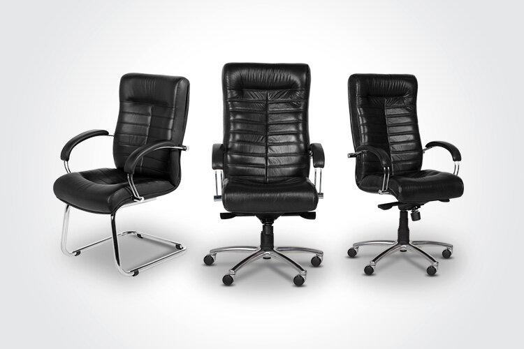 Комбинирайте посетителския стол ORION с президентския офис стол ORION