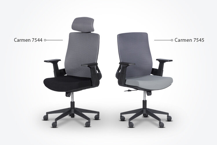 Комбинирайте работния офис стол Carmen 7545 с президентския офис стол Carmen 7544